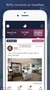 App travel to find people in the airport