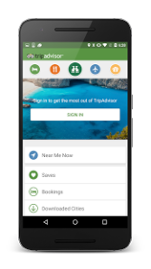 travel app comparator Tripadvisor
