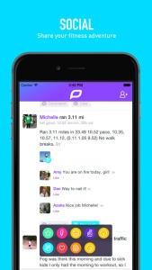 Fitness app daily mile