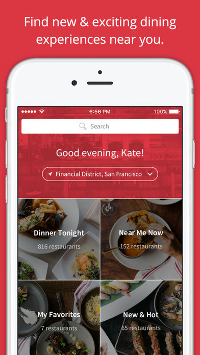 App to find restaurants nearby using the GPS