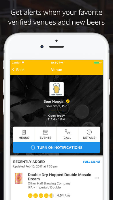 App to save beers and discover new ones